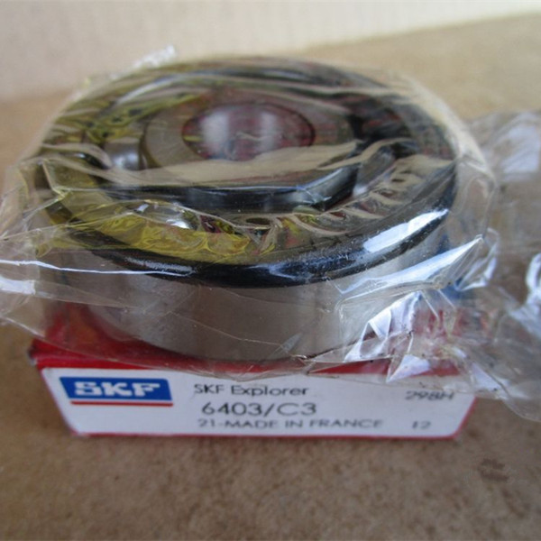 Hot sale SKF bearings 6403 C3 single row deep groove ball bearing in stock