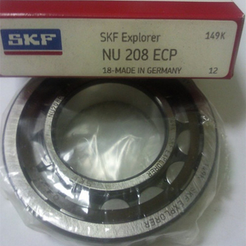 High precision SKF bearing NU208EC Cylindrical roller bearing - 40*80*18mm