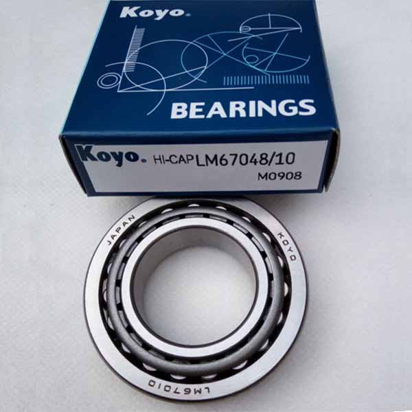 Japan KOYO bearings Taper Roller Bearing LM67048/LM67010