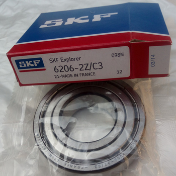 High precision SKF bearing 6206 2Z/3C deep groove ball bearing - China Manufacturer