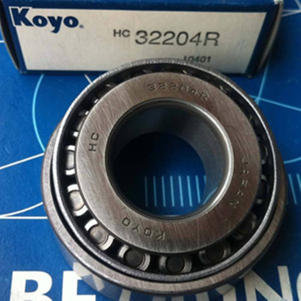 Koyo 32204R high precision tapered roller bearing with best price in stock