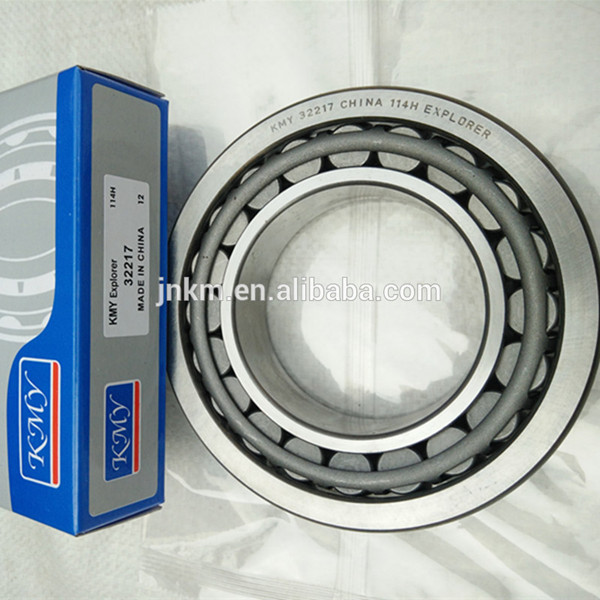 China bearing KMY brand 32217 tapered roller bearing in rich inventory